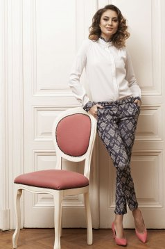 Pantaloni PrettyGirl Patterned DarkBlue