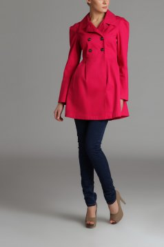 Trench Top Secret S026543 Pink
