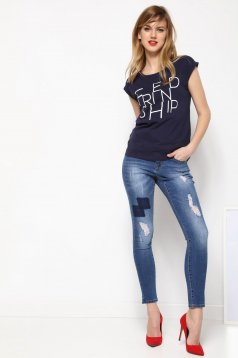 Tricou Top Secret S027496 DarkBlue