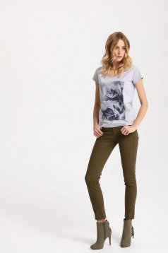Tricou Top Secret S027516 Grey