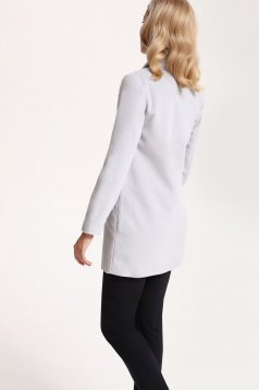 Palton Top Secret S027562 LightGrey