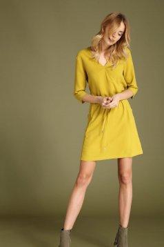 Rochie Top Secret S027588 Yellow