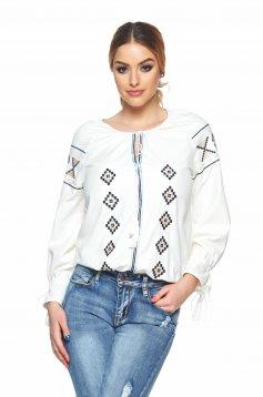 Bluza Etno Style White