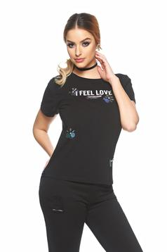 Tricou Best Feeling Black