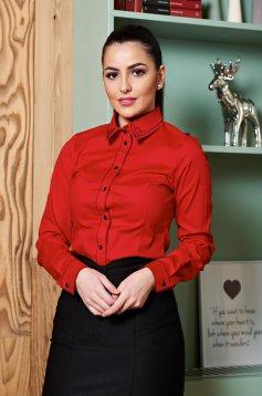 Camasa LaDonna Modern Collar Red