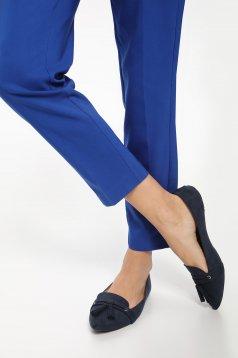 Pantofi cu ciucuri Top Secret albastru cu varful usor ascutit
