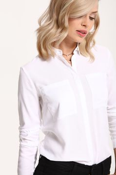 Camasa Top Secret S027907 White