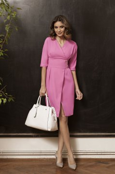 Rochie PrettyGirl Office Enchantment Fuchsia