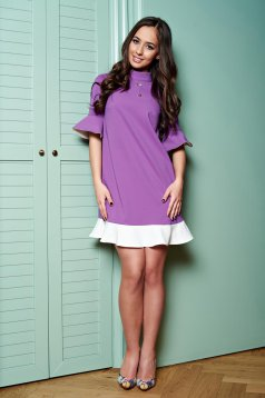 Rochie PrettyGirl Simple Smile Purple