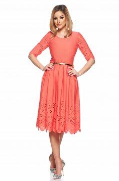 Rochie PrettyGirl Classic Coral