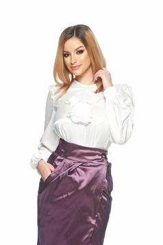 Bluza PrettyGirl Office Statement White