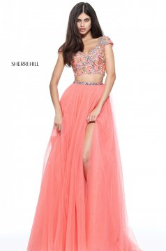 Rochie Sherri Hill 51166 Coral