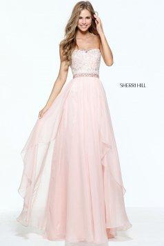 Rochie Sherri Hill 51052 Rosa