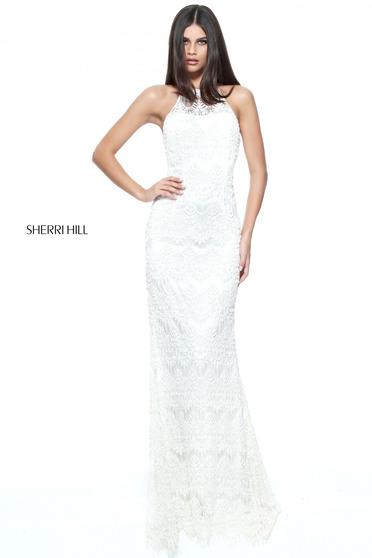 Rochie Sherri Hill 51184 White