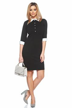 Rochie LaDonna Simple Office Black