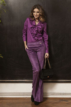 Pantaloni PrettyGirl Mysterious Look Purple