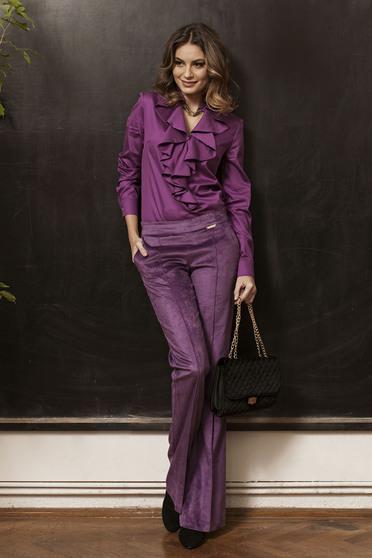 Pantaloni PrettyGirl Mysterious Look Purple