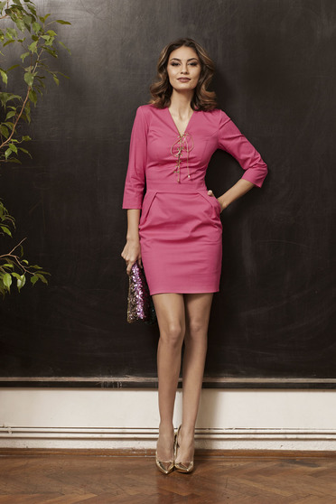 Rochie PrettyGirl Stylish Lady Pink