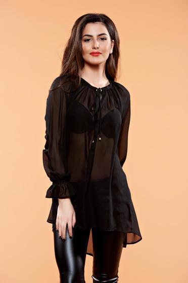 Bluza PrettyGirl Diaphane Black