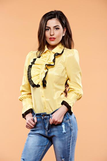 Camasa Artista Magic Details Yellow