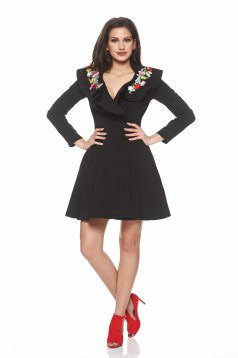 Trench Artista Magic Embroidery Black