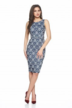 Rochie PrettyGirl Beautiful Embroidery DarkBlue