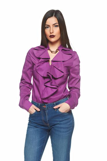 Bluza PrettyGirl Flame Design Purple