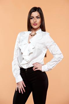 Bluza PrettyGirl Flame Design White