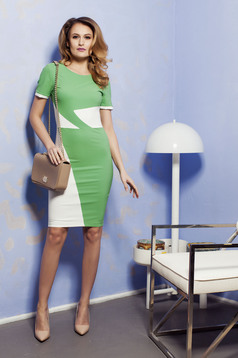 Rochie PrettyGirl Office Color Green