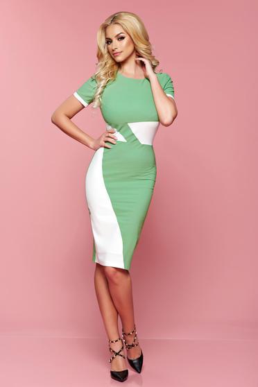 Rochie PrettyGirl Office Color Green