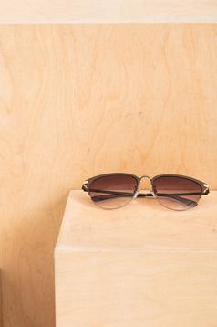 Ochelari de soare cu lentile rotunde Top Secret maro