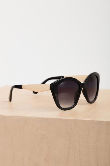 Ochelari de soare cu accesoriu metalic Top Secret negru