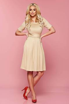 Rochie PrettyGirl Love Emotion Cream