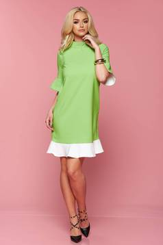 Rochie PrettyGirl Simple Smile LightGreen