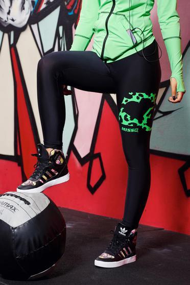 poze cu Pantofi sport Adidas Originals Zestra negri cu animal print cu talpa usoara