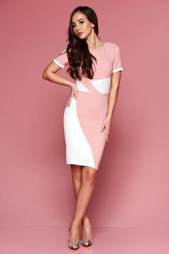 Rochie PrettyGirl Office Color Peach