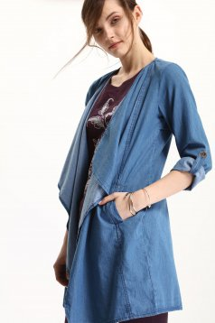 Palton Top Secret S029350 Blue