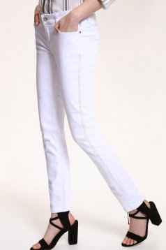 Pantaloni Top Secret S029621 White