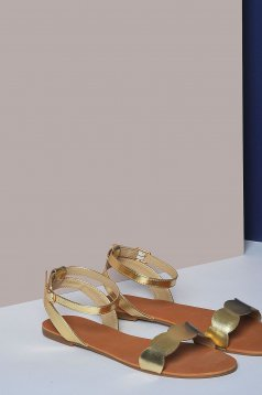 Pantofi Top Secret S029870 Gold