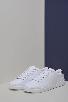 Pantofi Top Secret S030029 White
