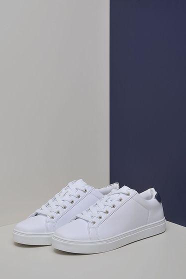 Pantofi Top Secret S030029 White