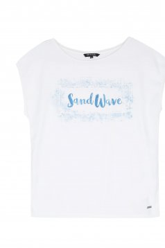 Tricou Top Secret S030403 White