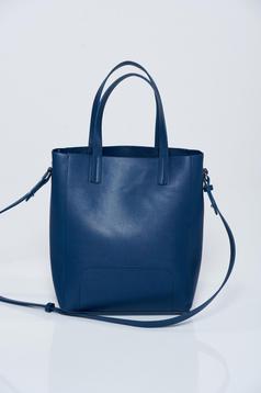 Geanta dama casual Top Secret albastru-inchis cu manere de lungime medie