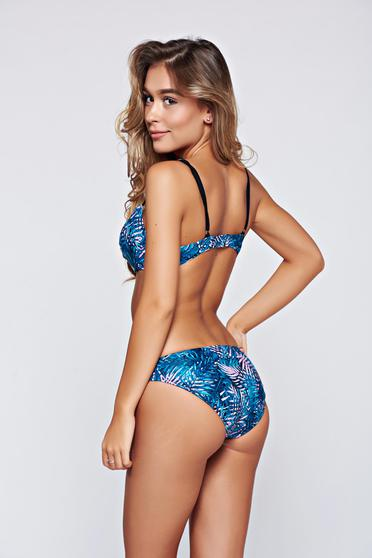 Slip de baie Top Secret alb normal cu print