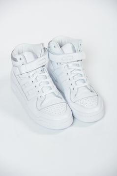 Pantofi sport Adidas Originals albi casual cu talpa usoara