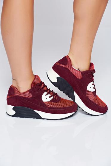 Pantofi sport Top Secret visinii casual cu siret