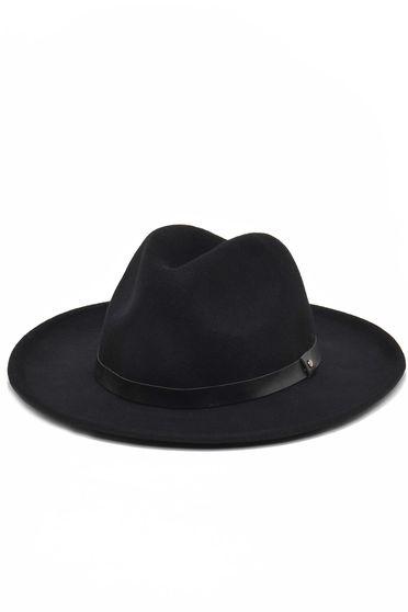 Palarie Top Secret neagra casual din lana