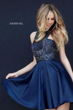 Rochie Sherri Hill 51302 DarkBlue