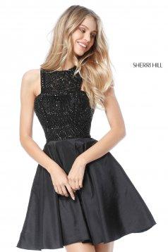 Rochie Sherri Hill 51302 black