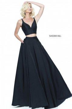 Rochie Sherri Hill 50894 Black
